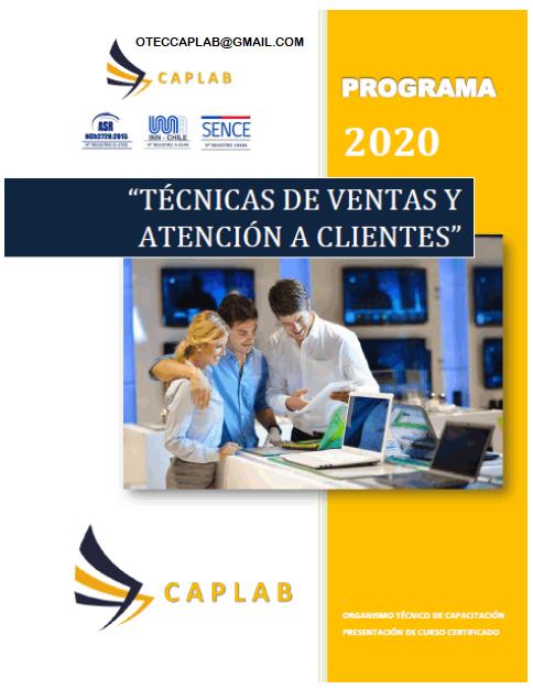 TÉCNICAS DE VENTAS Y ATENCIÓN A CLIENTES