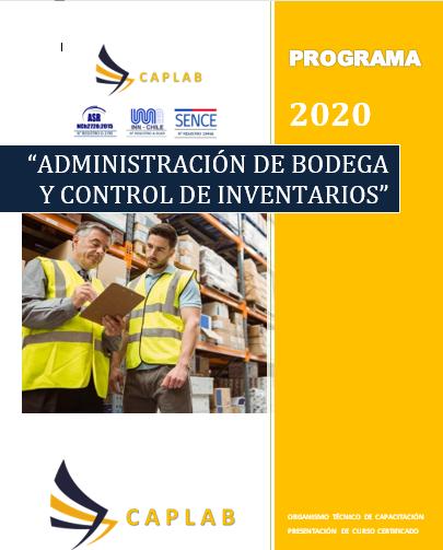 ADMINISTRACIÓN DE BODEGA Y CONTROL DE INVENTARIOS